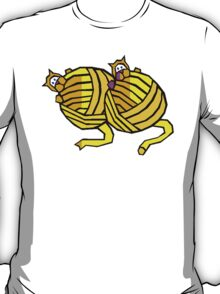 Kittens Playing With Yarn T-Shirt