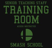 Smash School Training Room (Green) by Nguyen013