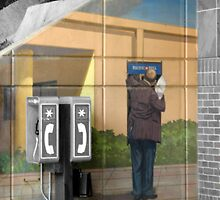 Grey Phone Booth by TrevorD2088