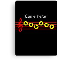 Come Here - Epona's Song Canvas Print
