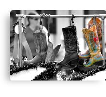 Cowgirl Couture II Canvas Print