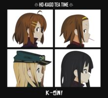 K-on! Gorillaz by FlariousPony