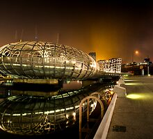 Docklands tunnel by Alistair Wilson