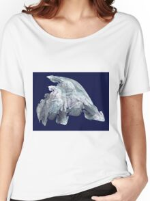 Ice Flakes - Abstract Art Women's Relaxed Fit T-Shirt