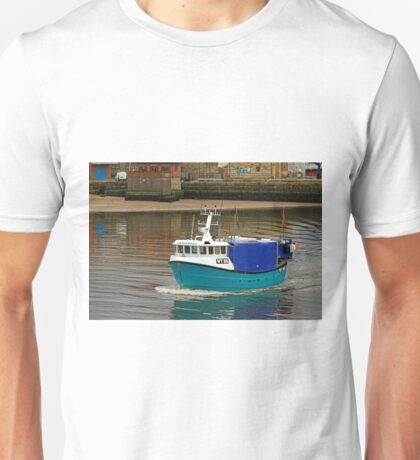 The Olivia Rose In Whitby Lower Harbour Unisex T-Shirt