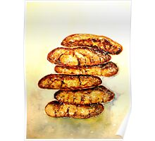 Delicious...Spicy Chewy Ginger Cookies Poster