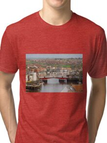 Harbour View, Whitby Tri-blend T-Shirt