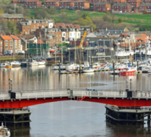 Harbour View, Whitby Sticker