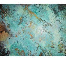 Copper Patina Photographic Print