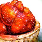 Delicious ..Strawberry Tart by ©Janis Zroback