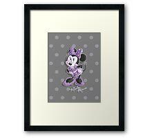 Miss Minnie Framed Print
