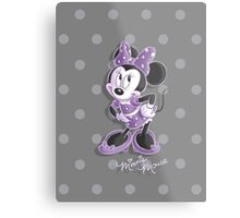Miss Minnie Metal Print