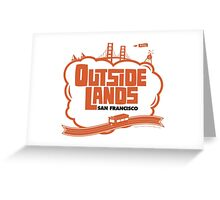 Outside Lands World Greeting Card