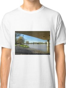 The River In Flood, Stapenhill Gardens Classic T-Shirt