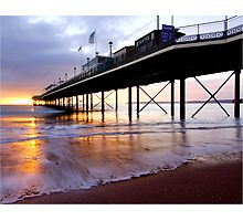 Watercolour Paignton Photographic Print