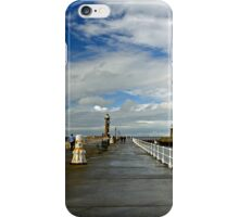 Along The West Pier, Whitby iPhone Case/Skin