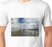 Along The West Pier, Whitby Unisex T-Shirt