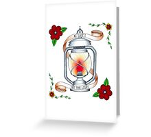 Tangled - I See the Light Greeting Card