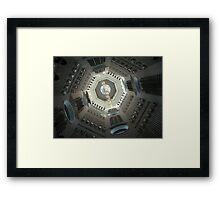 Leeds Armory Tower Framed Print