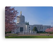 Capital Mall Canvas Print