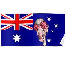 Insomniac Goes to Australia Poster