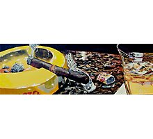 Cigar Resolution Photographic Print