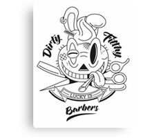 Dirty Filthy Barbers Canvas Print