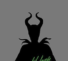 Maleficent Sillhouette by captaincatwoman
