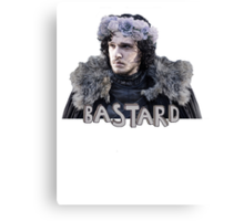 Snow Bastard Flower Crown Canvas Print