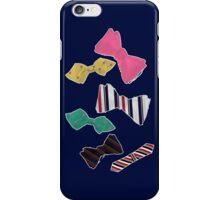 Blaine's Bowties 1 iPhone Case/Skin