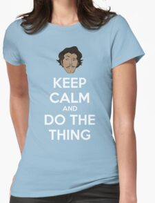 Do the thing! Womens Fitted T-Shirt