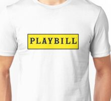 Playbill  Unisex T-Shirt
