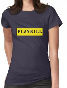 Playbill  Womens Fitted T-Shirt