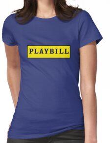 Playbill  Womens Fitted T-Shirt