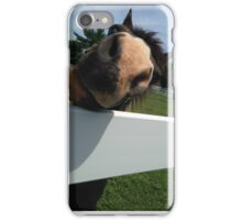 Nelly the Nosey Horse iPhone Case/Skin