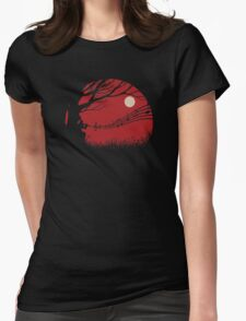 Lonely samuraï Womens Fitted T-Shirt