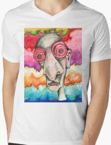 Grateful Insomniac Mens V-Neck T-Shirt