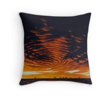 Arid Zone Throw Pillow