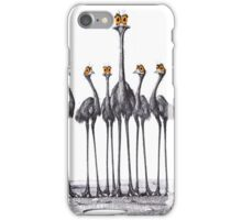 A Longneck and Six Stubbies (White) iPhone Case/Skin