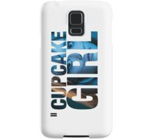 Cupcake Girl Samsung Galaxy Case/Skin