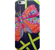 411 - FANTASY BUTTERFLY - DAVE EDWARDS MIXED MEDIA - 2014 iPhone Case/Skin