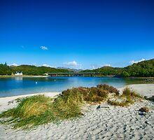 Morar Beach by Chris Thaxter