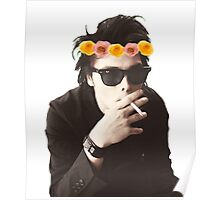 Gerard Way - Flower Crown Poster