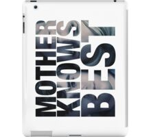 Mother Knows Best (Season Two) iPad Case/Skin