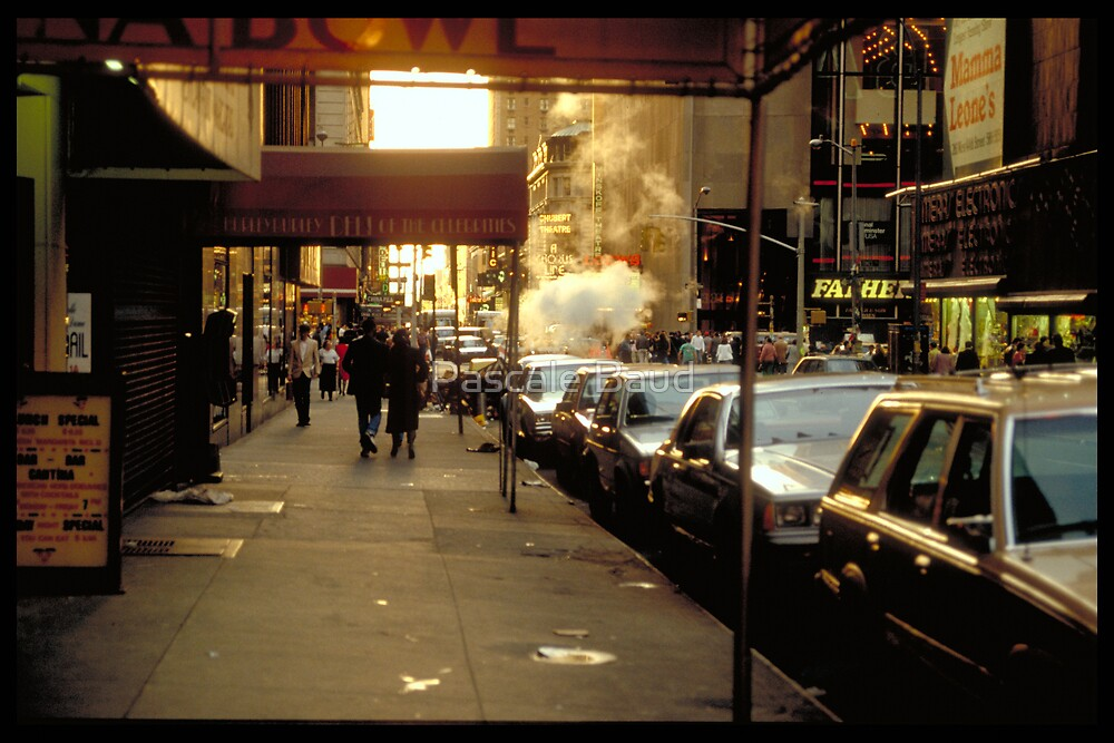 In the street - NYC by Pascale Baud