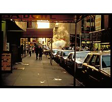 In the street - NYC Photographic Print
