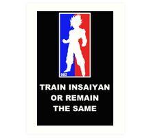 Goku Sport Logo - Train Insaiyan Art Print