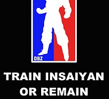 Goku Sport Logo - Train Insaiyan by Lannie1787