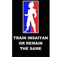 Goku Sport Logo - Train Insaiyan Photographic Print