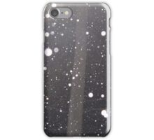 Snow falling iPhone Case/Skin